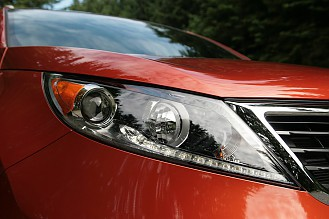 2011 Kia Sportage движется в верном направлении